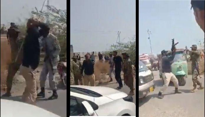 Karachi police and navy personnels exchange blows over Coronavirus protocols
