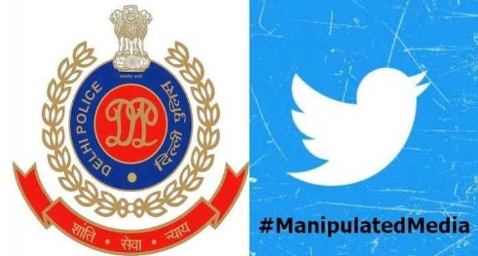 Delhi Police serves notice to Twitter over manipulated media label