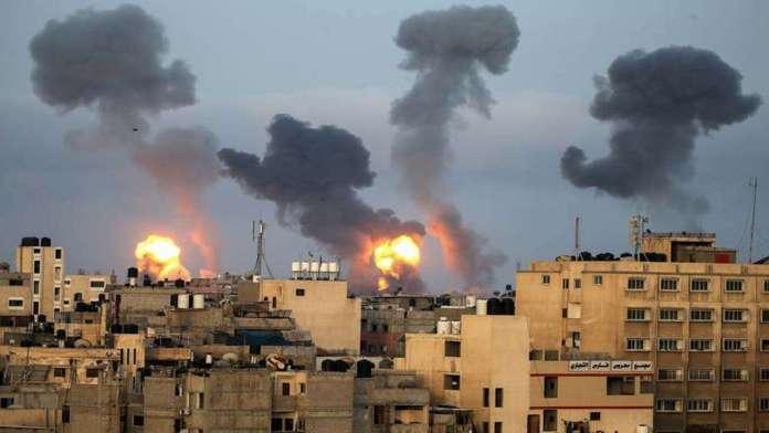 IDF bombs Gaza in response to arson balloons