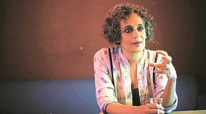Government removes tweet promoting Arundhati Roy's book after online backlash