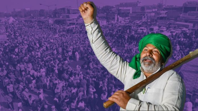 Tikait incites farmers to keep tractors ready for another protest