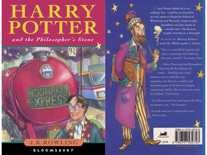 24 years ago, on this day, Harry Potter and the Philosopher's Stone was published the first time, authored by J.K. Rowling