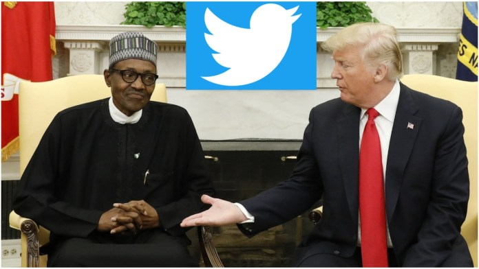 Trump hails Nigeria for banning Twitter for a month