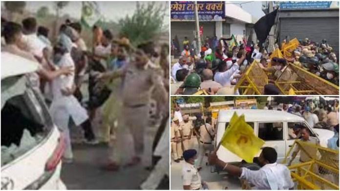 Farmers attack car of BJP leader in Haryana
