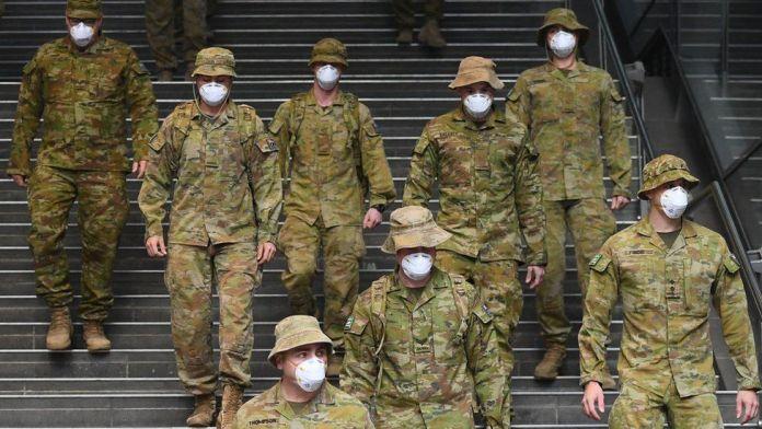 Australia sends in army to control COVID-19 in Sydney