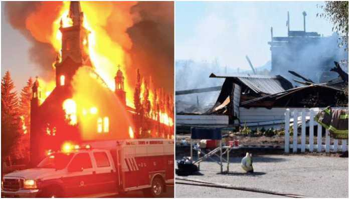 5 Catholic Churches burnt in Canada after discovery of mass graves: Details
