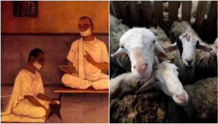 Jains observe a fast, and donate to the cause of animal care (Jivdaya) to express solidarity with the millions of animals to be slaughtered on Eid