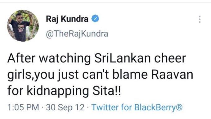 Raj Kundra old tweet