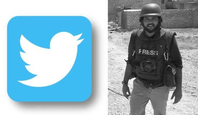 Danish Siddiqui twitter abuse and harassment