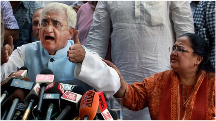 UP court issues non bailable warranty against Salman Khurshid's wife in funds misappropriation case