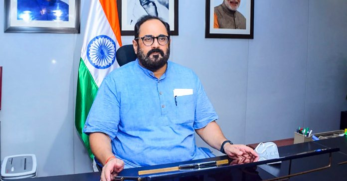Union Minister Rajeev Chandrashekhar temporarily loses his blue tick, only to be restored quickly: Here is why it happened