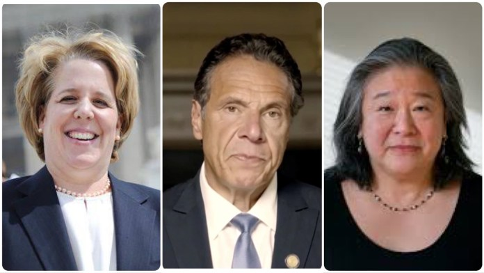 Roberta Kaplan and Tina Tchen of Time's Up advocacy group advised Cuomo to discredit his victims