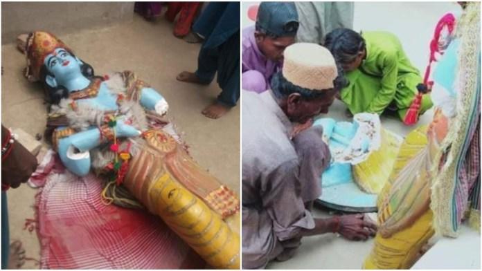 While Hindus were celebrating Janmashtami, Islamists attacked and vandalised a Krishna temple in Pakistan