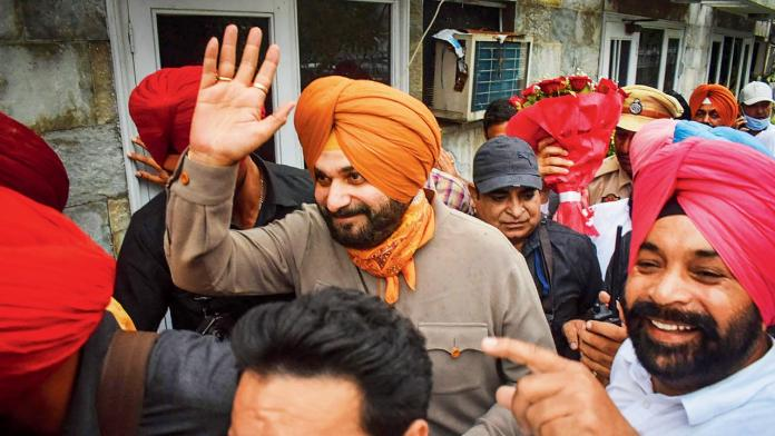 Sidhu says he doesn't have decision making power in Punjab congress