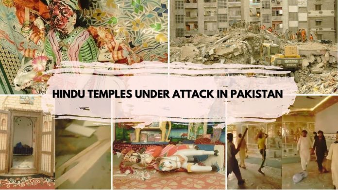 Pakistan, the persecuted and impoverished Hindu minorities in Pakistan watch helpless as their temples get destroyed by majority Muslims