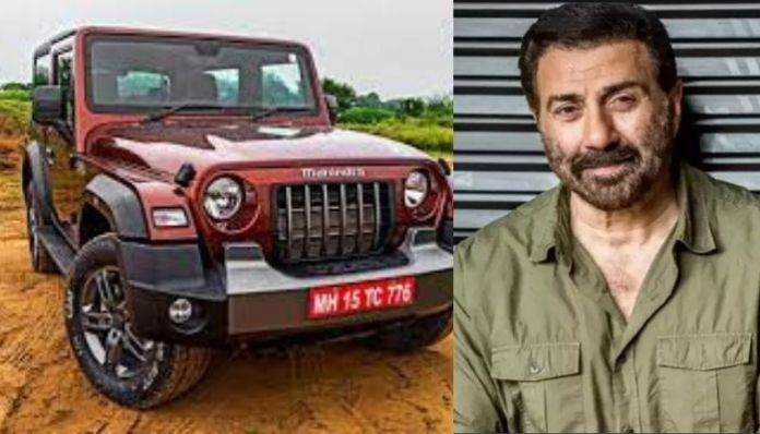 Sunny Deol writes to Mahindra auto dealer for out of turn delivery of Thar for MLA's daughter, letter goes viral