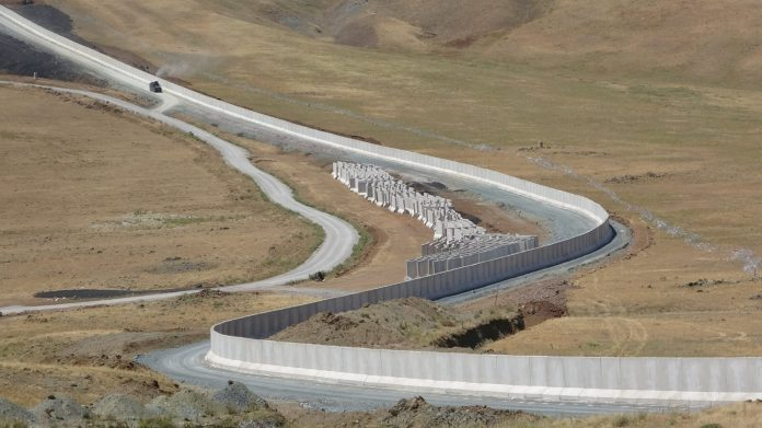 Turkey building massive wall to stop Afghan refugee influx through Iran
