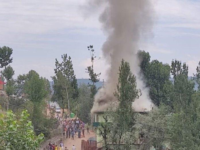 Darul Uloom burning
