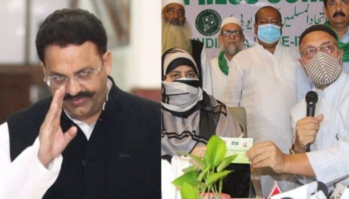 AIMIM to not field candidates against Mukhtar Ansari after it inducts mafia don Atiq Ahmed