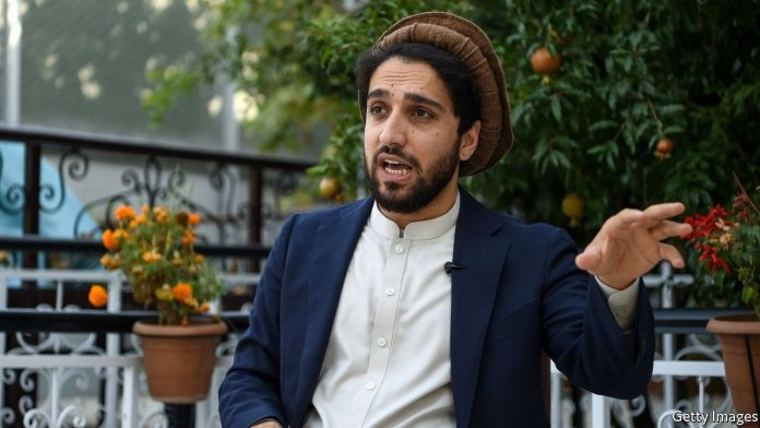 Ahmad Massoud leads the national resistance front against the Taliban