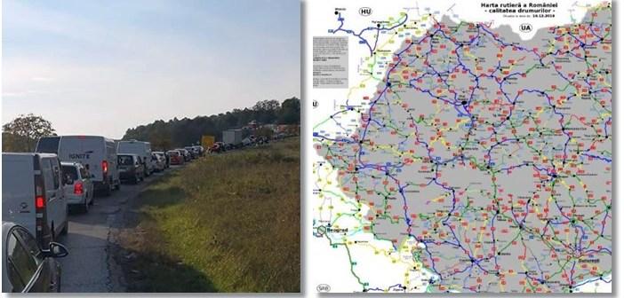 Drumuri Europene Romania Harta