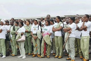troubled corpers member in a far away land