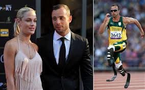 Oscar Pistorious and deceased girlfriend