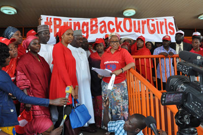 "#BringBackOurGirls Campaign: President Jonathan Is ""Still"" Missing The Point"