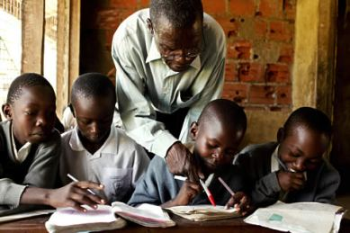 Teacher+in+africa