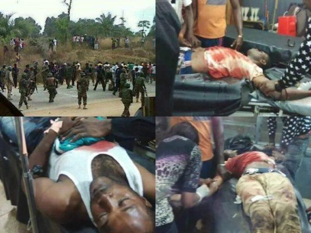 police kill biafrans