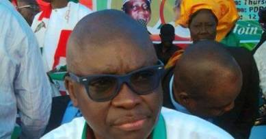 Ayodele Fayose led thugs to beat up judges