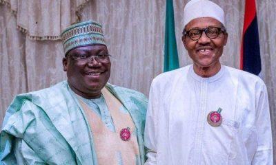 Ahmed Lawan and Buhari