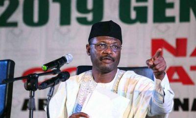 INEC Chairman Mahmoud Yakubu