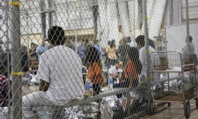 The Trump administration has faced criticism for separating families seeking asylum in the US and keeping children in detention centres