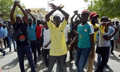 There have been protests in Dakar Senegal after the broadcast of a documentary alleging financial impropriety by Aliou Sall brother of President Macky Sall