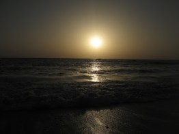 Picturesque Evening at the Majestic Anjuna Beach