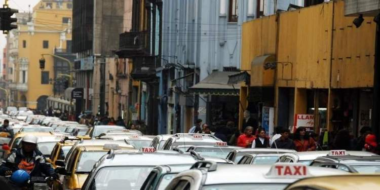 Taxis in Lima