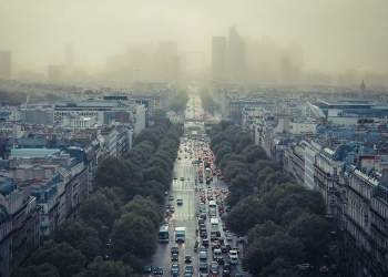 Paris in smog
