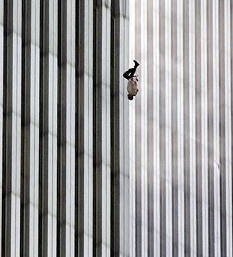 The Falling Man. Used Under Fair Use for Information Purposes.