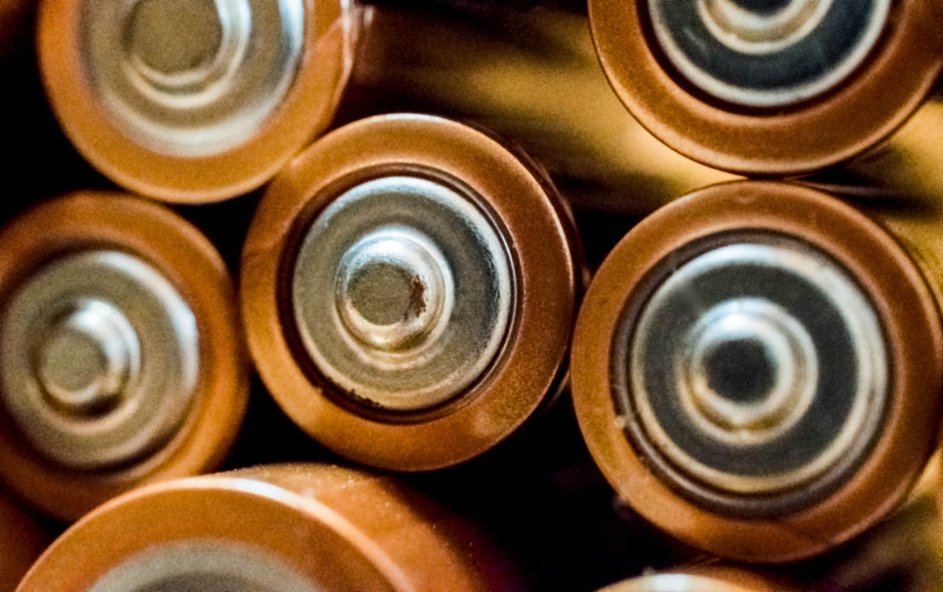 close up photo of batteries