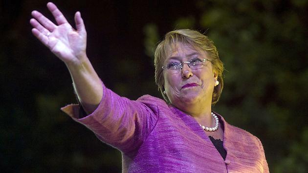 Michelle Bachelet candidata a Presidenta en Chile - Foto: