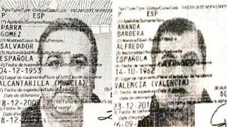 Españoles detenidos