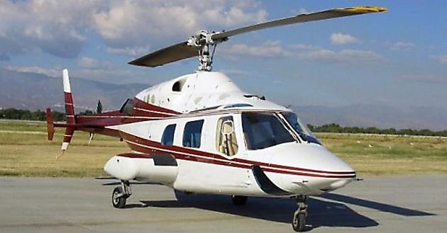 El helicóptero de la Gobernación de Tierra del Fuego - Foto: Web