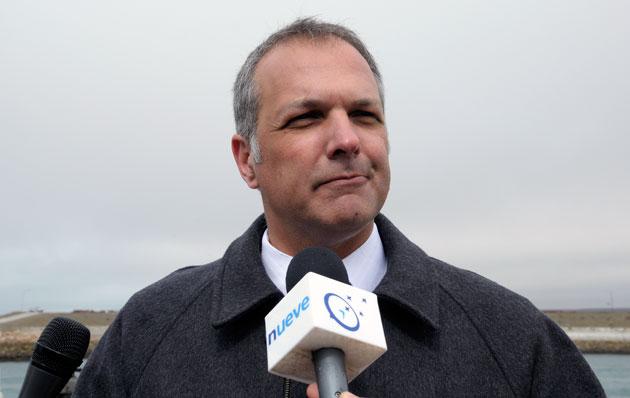 Martín BUzzi, Gobernador de Chubut – Foto: OPI Santa Cruz/Francisco Muñoz