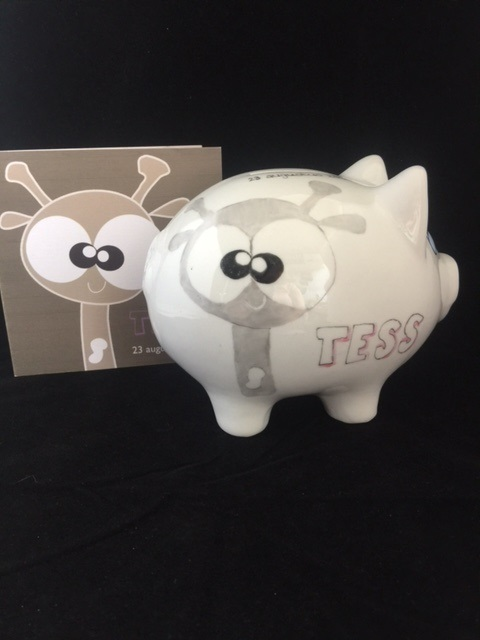 Geboortespaarvarken Tess