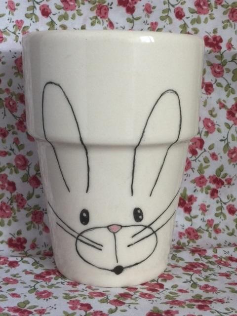 Melkbeker konijntje