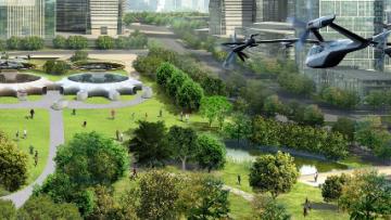 Hyundai apresenta carro voador na CES e anuncia parceria com Uber