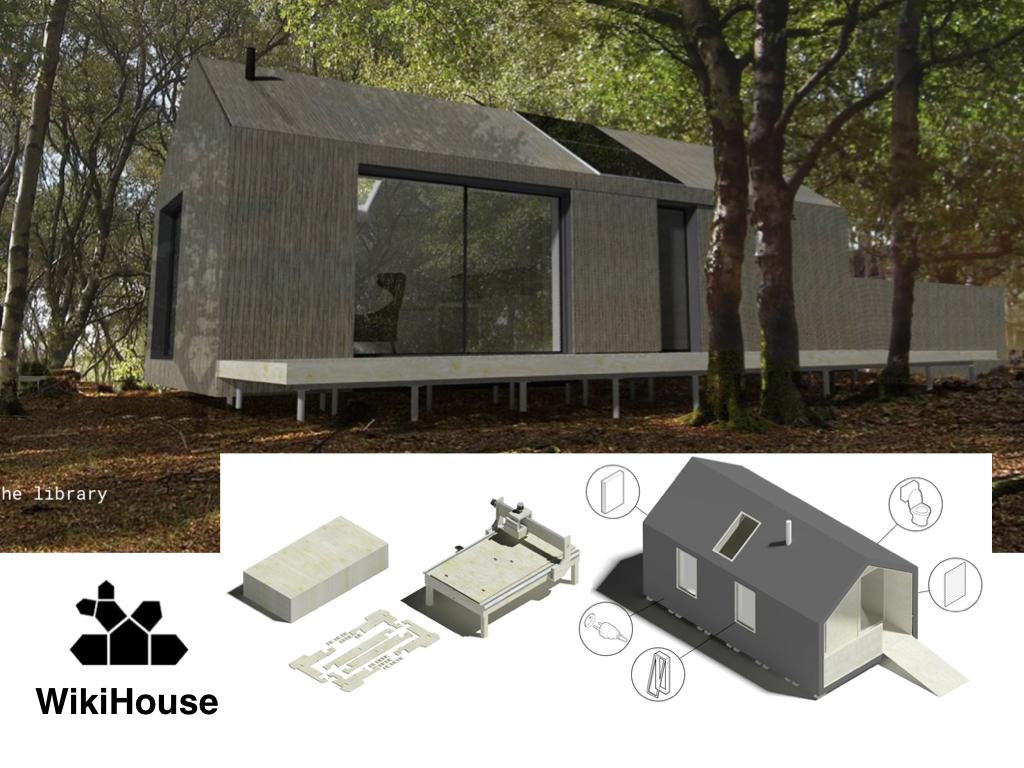 Afgebouwd WikiHouse.