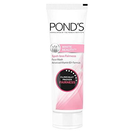 ponds facewash - Winter Cosmetics in Pakistan