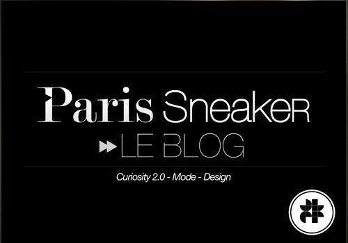 Paris Sneaker : Le blog